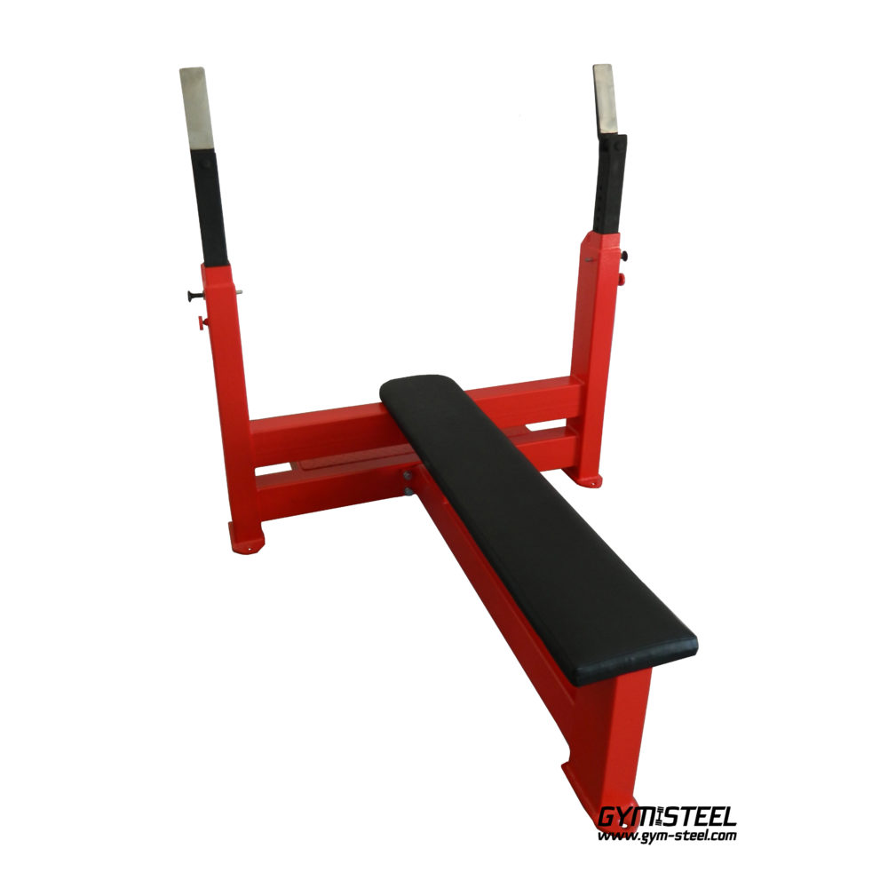 Olympic Press Bench (A1X) is made exclusively from high-strength metal profile 120x80x4 mm. It gives strength and safety when working with the maximumload up to 500kg.