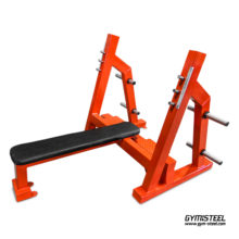 Olympic flat press bench in all different colors for sport