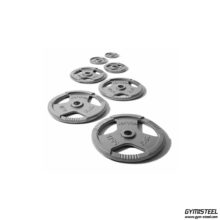 Metal Plate Weights (X1) are suitable for 50mm stands and barbells.