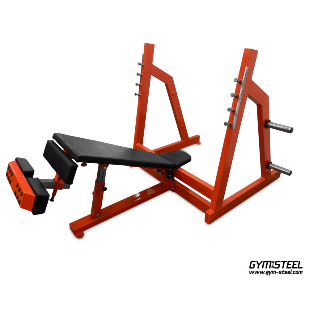 Olympic Decline Chest Press Bench (A3)