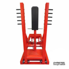 Standing Chest Press Machine Plate Loaded – gives great chest workout with minimum stress on the lower back. Olympic plate loaded. Foot platform provide safety grip for maximum press movement.