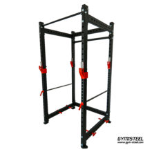 Power Rack ideal for athletes who train alone or without the assistance of a spotter. It provides a secure and enclosed frame within which you can squat and bench press to the maximum.