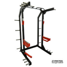 Designed for the home power and olympic lifter, this half rack maximizes training with multiple grip positions.
