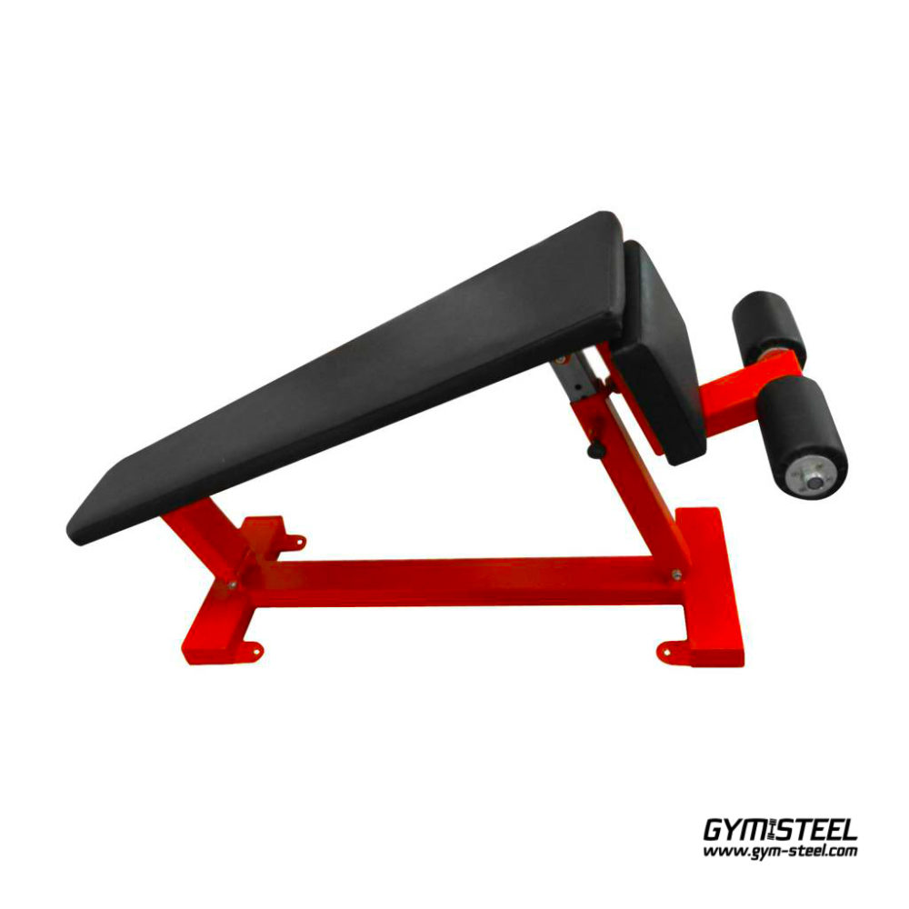 Adjustable Crunch Bench. Solid, compact and effective Adjustable Crunch Bench gives you some of the best abdominal exercises to build solid abs.