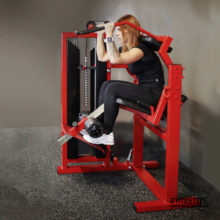 Abdominal Crunch Machine is a great for everyone and is good for keeping stomach muscles toned and strong. Designed to work the upper and lower abs.