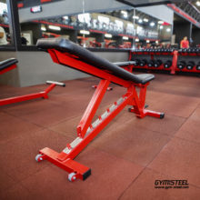 Get a full-body workout with Adjustable Flat Incline Bench. Top class bench for a complete free-weight workout. It is very solid, compact and effective.