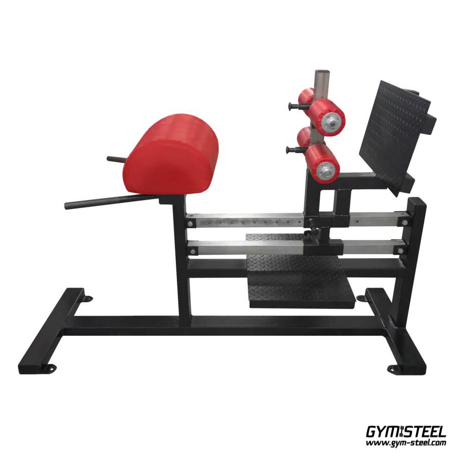 Glute Ham Raise Machine great for developing strong glutes, lower back, harmstrings & abs. Adjustable both ways horizontally and vertically.