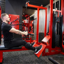 The Multi gym lat pulldown and seated row workstation is a must have item in a hard core Gym. It will help you build back muscles.
