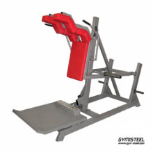 Front Squat Machine perfectly trains the muscles of the thighs and buttock muscles.