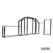 Universal field trainer (U3) for your outside or inside training area to accommodate a group of athletes or to keep fit.