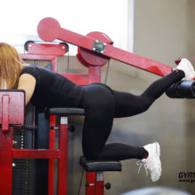 This glute machineis the ideal exercise machine for targeted training of the buttocks in the gym