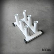 Olympic Bar Holder – Most Space Efficient Way to Store Bars. Keeps Gym Looking Tidy and Safe.